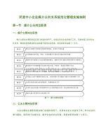 民營中小企業媒介公共關系規范化管理實施細則