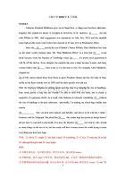 (推薦)2018上海中學高三開學第二學期3月周練考卷及分析