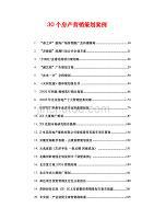 關于30個房產營銷策劃案例(前10)