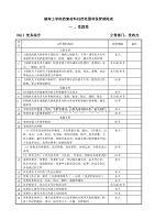 湖南工学院档案材料归档范围和保管期限表