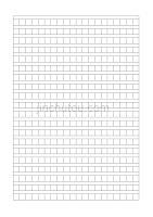 作文稿纸模板(大小:A4纸)