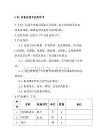 CTC設備巡檢作業指導書